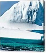 Ice Xxv Canvas Print