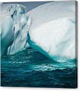 Ice Xxxi Canvas Print