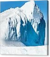 Ice Xxxiii Canvas Print