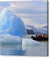 Iceberg Ahead Canvas Print