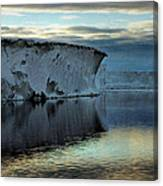 Iceberg In The Ross Sea At Night Canvas Print