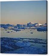 Icebergs Ahead Canvas Print