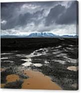 Iceland After The Rain Canvas Print