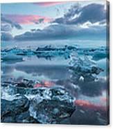 Iceland Daybreak Canvas Print