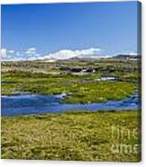 Iceland Panorama Canvas Print