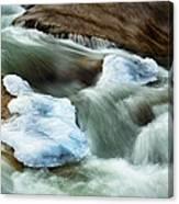 Icicle Creek Canvas Print