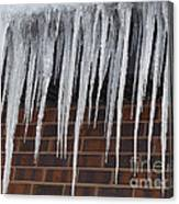 Icicle Wall Canvas Print