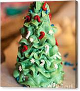 Icing Christmas Tree Canvas Print