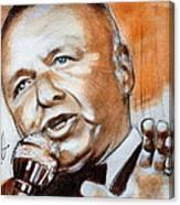 Icon Frank Sinatra Canvas Print
