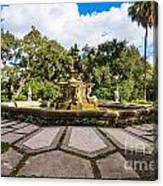Iconic Fountain Canvas Print