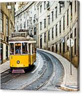 Iconic Lisbon Streetcar No. 28 IIi Canvas Print