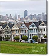 Iconic Painted Ladies Canvas Print