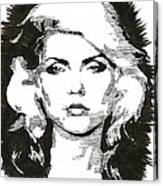 Icons - Blondie Canvas Print