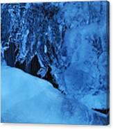 Icy Grimace Canvas Print