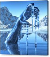 Icy Grip Canvas Print