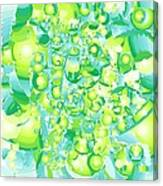Icy Lime Canvas Print