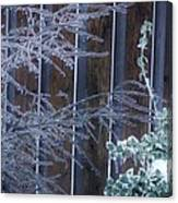 Icy Verticles Canvas Print