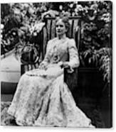 Ida Mckinley (1847-1907) Canvas Print