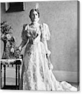 Ida Saxton Mckinley (1847-1907) Canvas Print