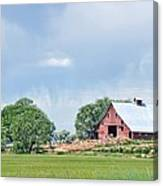 Idaho Falls Barn Canvas Print