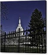 Idaho Falls Temple Series 4 Canvas Print