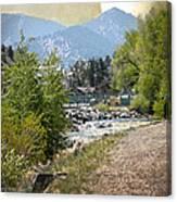 Idaho Springs Paradise Canvas Print