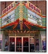Ideal Theater In Clare Michigan Canvas Print