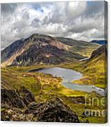 Idwal Lake Snowdonia Canvas Print
