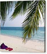 Idyllic Beach Just Waiting For You Canvas Print