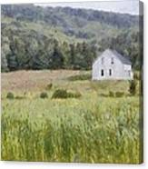 Idyllic Isolation Canvas Print