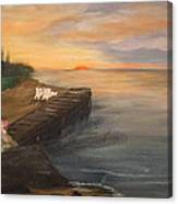 Idyllic Sunset Canvas Print