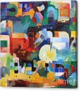 If I Forget Yerushayim Canvas Print