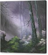 If You Go Down In The Woods Today ? Canvas Print