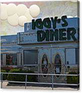 Iggy's Diner Canvas Print