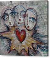 Ignite Love Number 1 Canvas Print