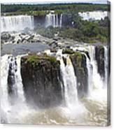 Iguacu Falls Brazilian Side Canvas Print