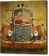 Ih Truck Canvas Print