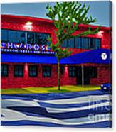 Ikaros Restaurant Baltimore Canvas Print