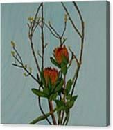 Ikebana Dancers Canvas Print