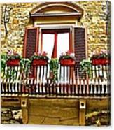 Il Balcone Di Firenze Canvas Print