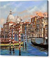 Il Canal Grande Canvas Print