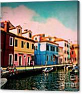 Il Colorato Villaggio Canvas Print
