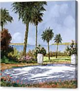 Il Giardino Delle Palme Canvas Print