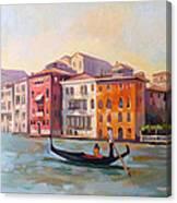 Il Gondoliere Canvas Print