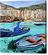 Il Mare Smeraldo Canvas Print