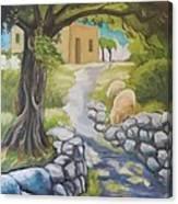Il Sentiero Canvas Print