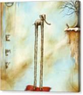 i'l Tappeto Magico #1 Canvas Print