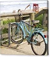 Ill Get My Bike Canvas Print