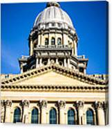 Illinois State Capitol In Springfield Canvas Print