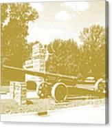 Illinois Veterans' Home Entry Canvas Print